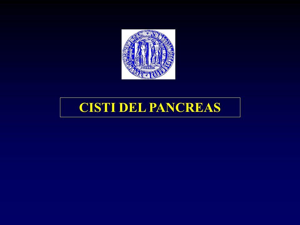 CISTI DEL PANCREAS