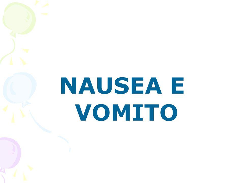NAUSEA E VOMITO