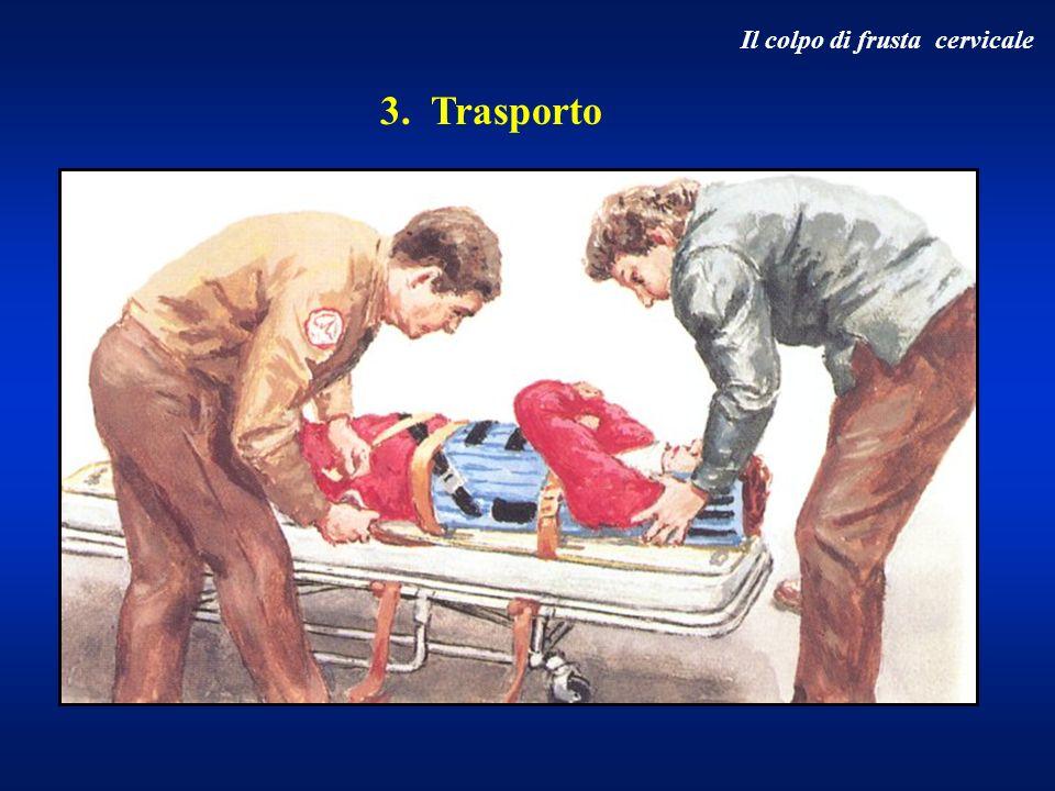 3. Trasporto Il colpo di frusta cervicale