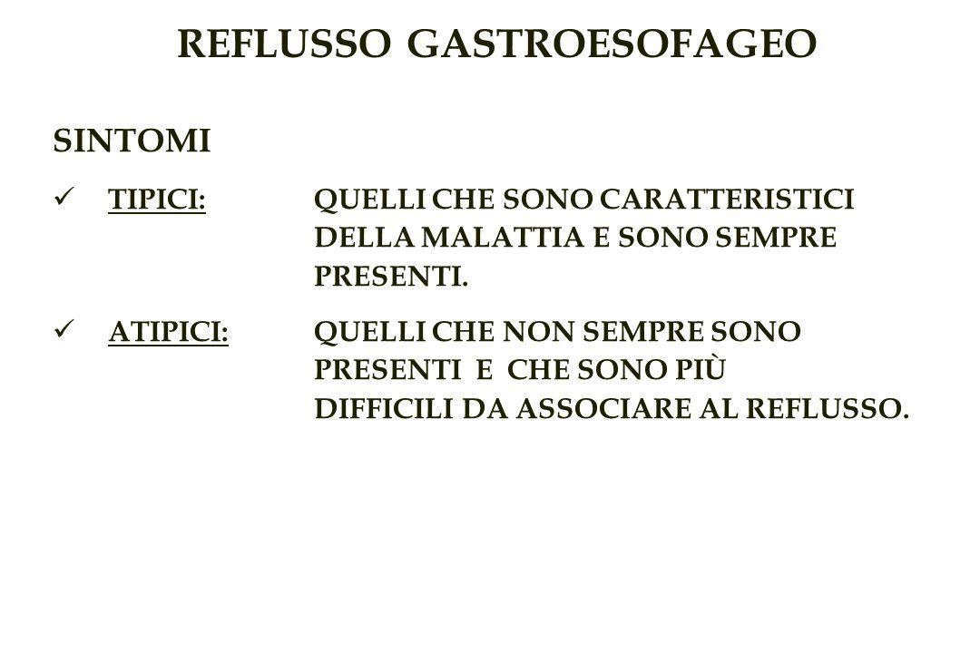 REFLUSSO GASTROESOFAGEO SINTOMI TIPICI: QUELLI CHE SONO CARATTERISTICI DELLA MALATTIA E SONO SEMPRE PRESENTI.
