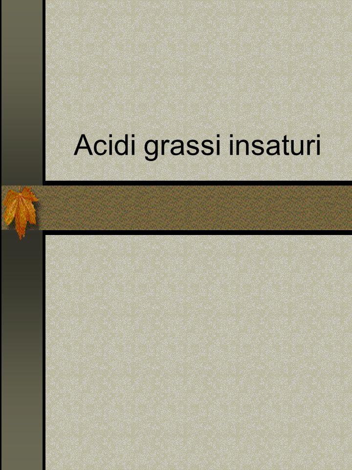 Acidi grassi insaturi