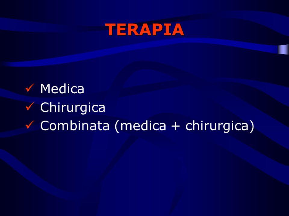 TERAPIA Medica Chirurgica Combinata (medica + chirurgica)