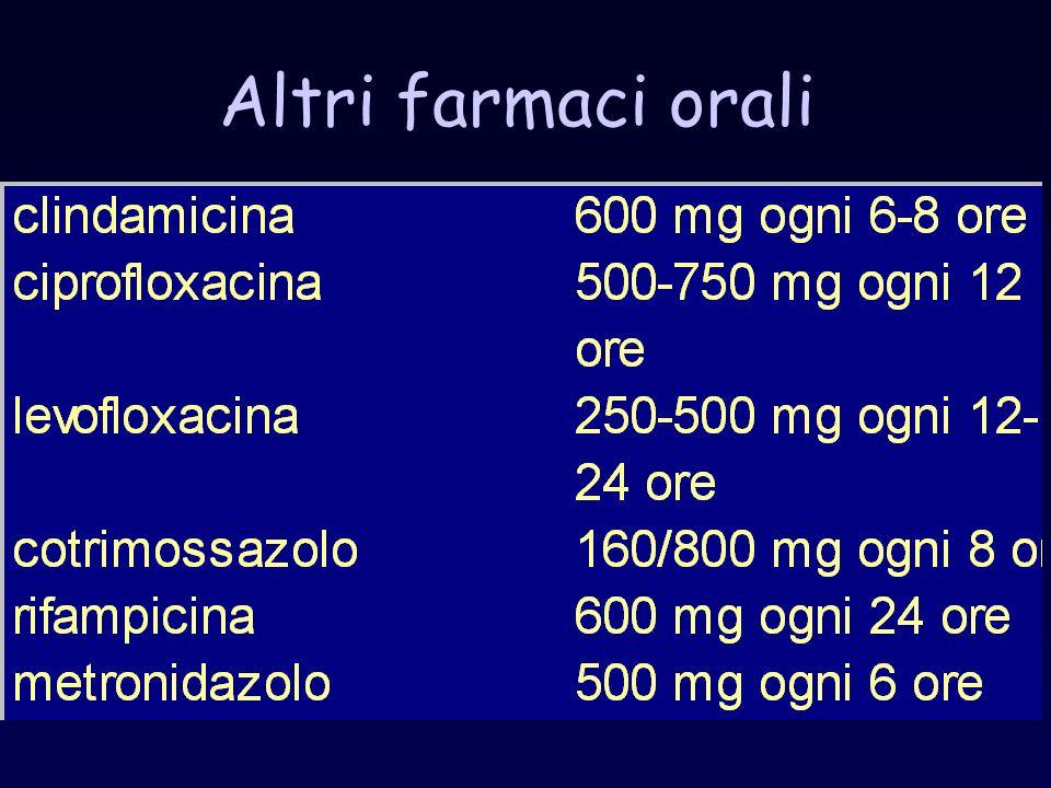 Altri farmaci orali