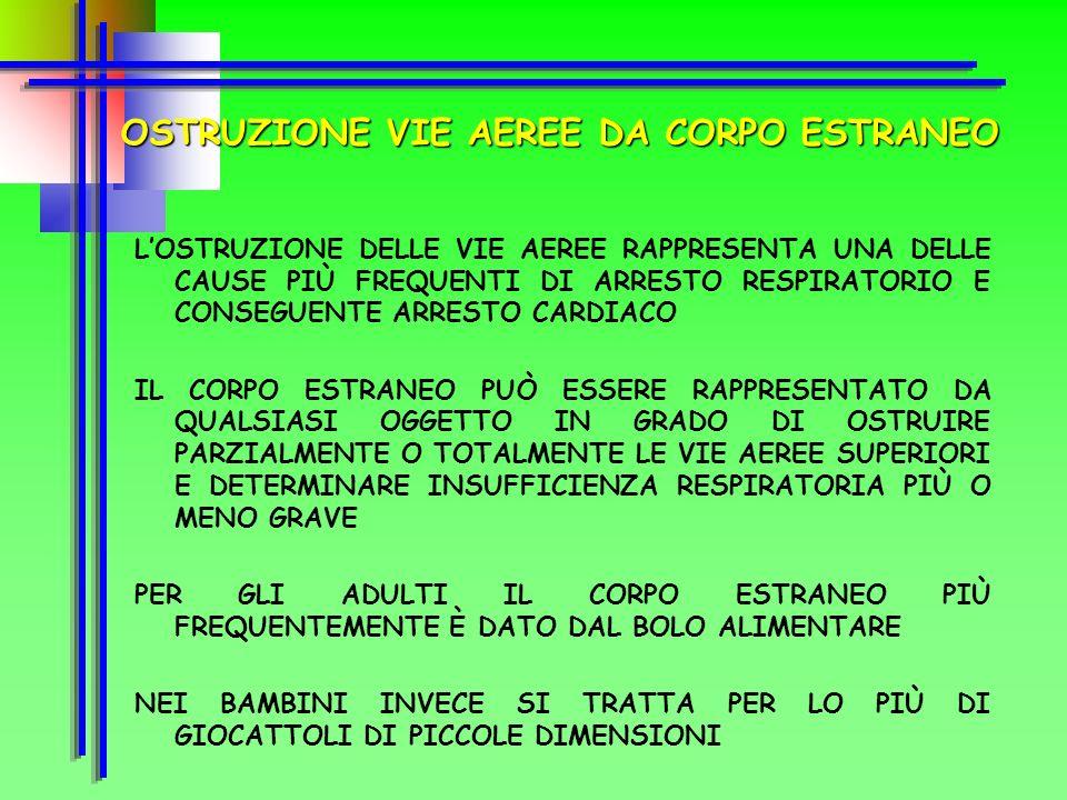 Trattamento: ABC della rianimazione cardiopolmonare Allertamento immediato 1 1 8 Posizione ortopnoica (semiseduto) Tranquillizzare il paziente Arieggi