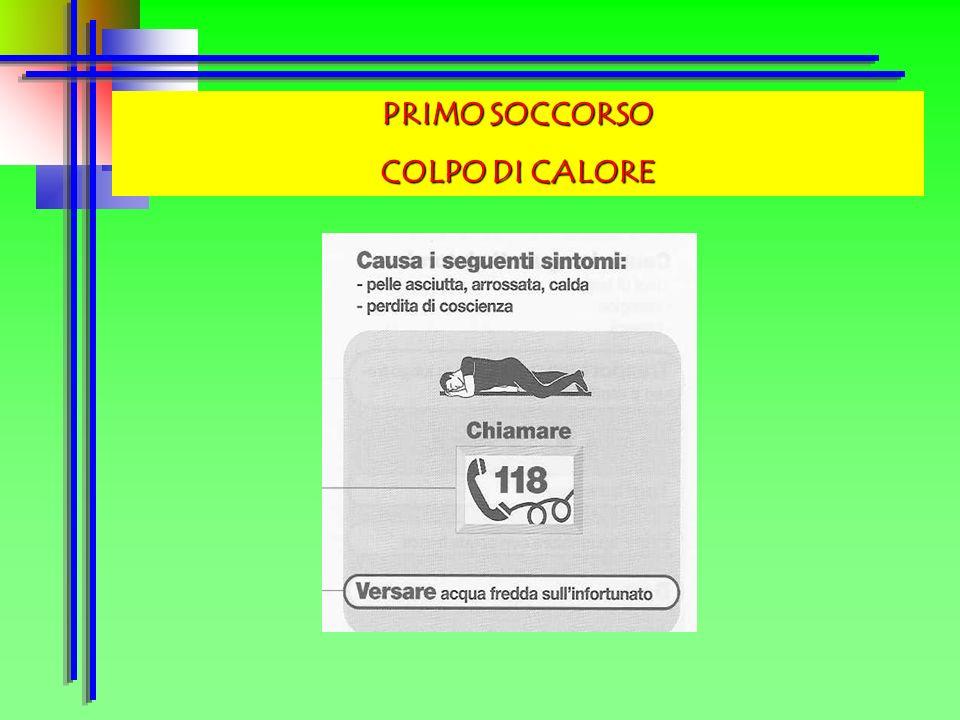PRIMO SOCCORSO USTIONI
