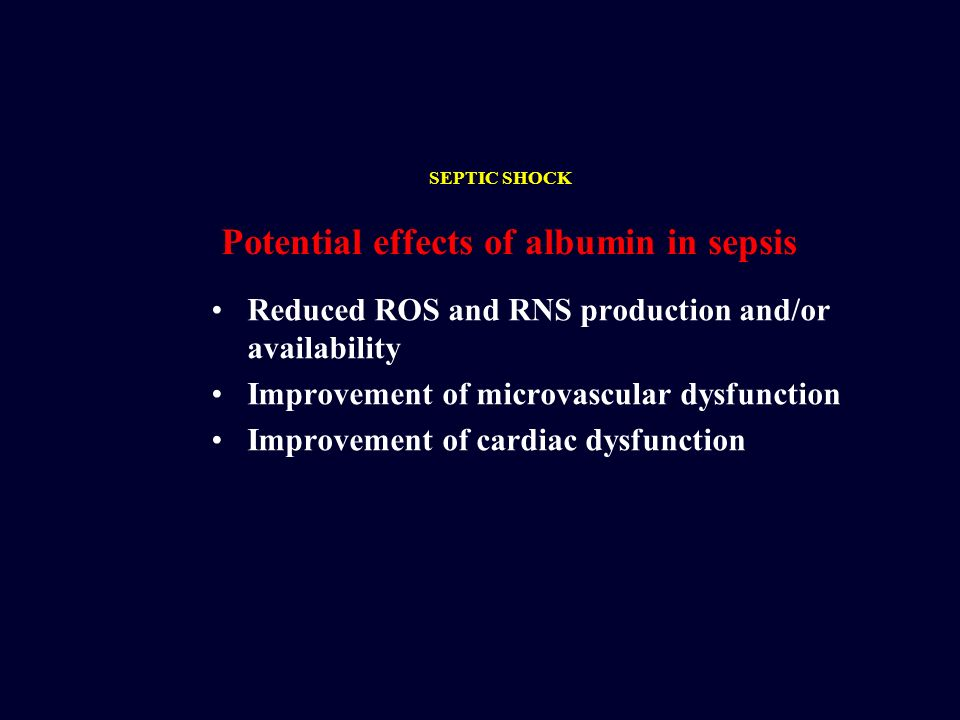 Reduced ROS and RNS production and/or availability Improvement of microvascular dysfunction Improvement of cardiac dysfunction Potential effects of al