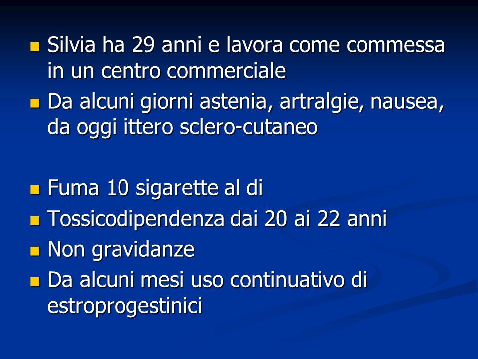 Diagnosi eziologica Accurata indagine anamnestica Ha assunto farmaci .