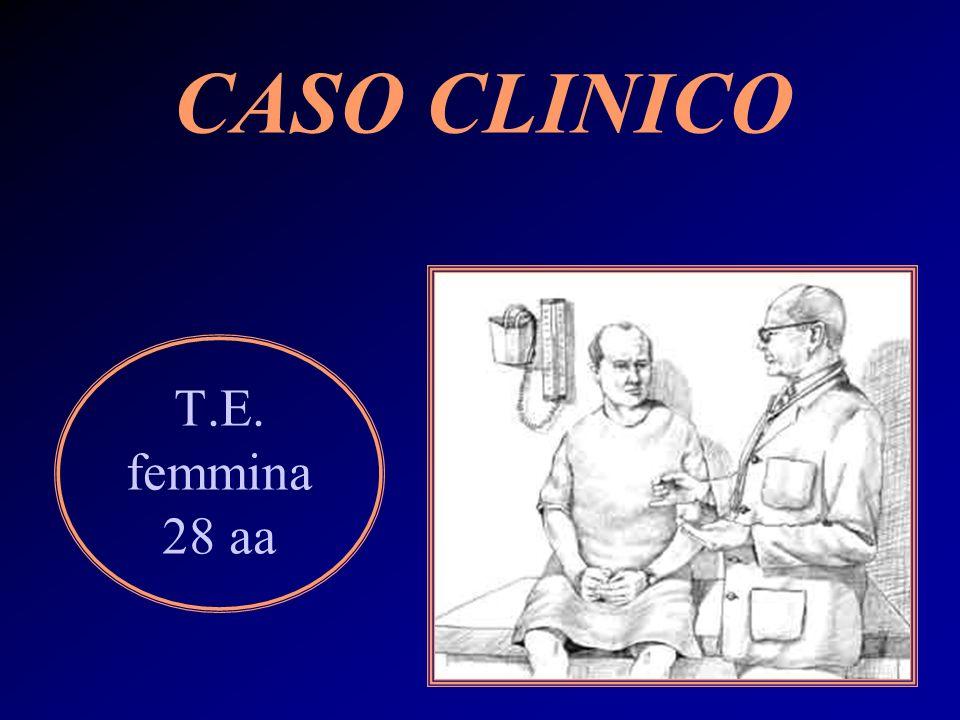 T.E. femmina 28 aa CASO CLINICO