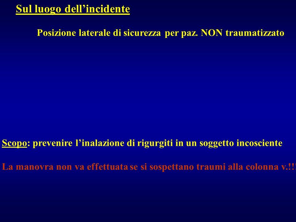 RADIOGRAFIE DINAMICHE: dopo rx standard negative N.B.