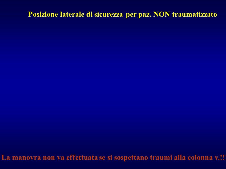 Prima fase Contestualmente 1.Radiografia del torace (A.P.) 2.Ecografia addominale 3.Radiografia del rachide cervicale 4.Radiografia del bacino (A.P.)