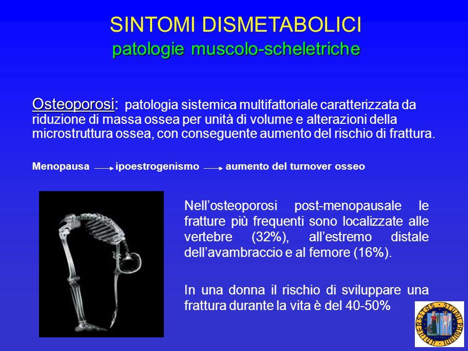 Osteoporosi Osteoporosi: patologia sistemica multifattoriale caratterizzata da riduzione di massa ossea per unità di volume e alterazioni della micros