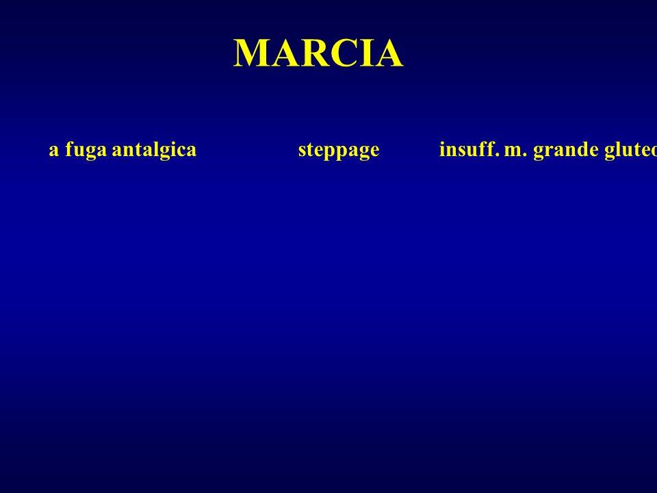 steppagea fuga antalgicainsuff. m. grande gluteo MARCIA