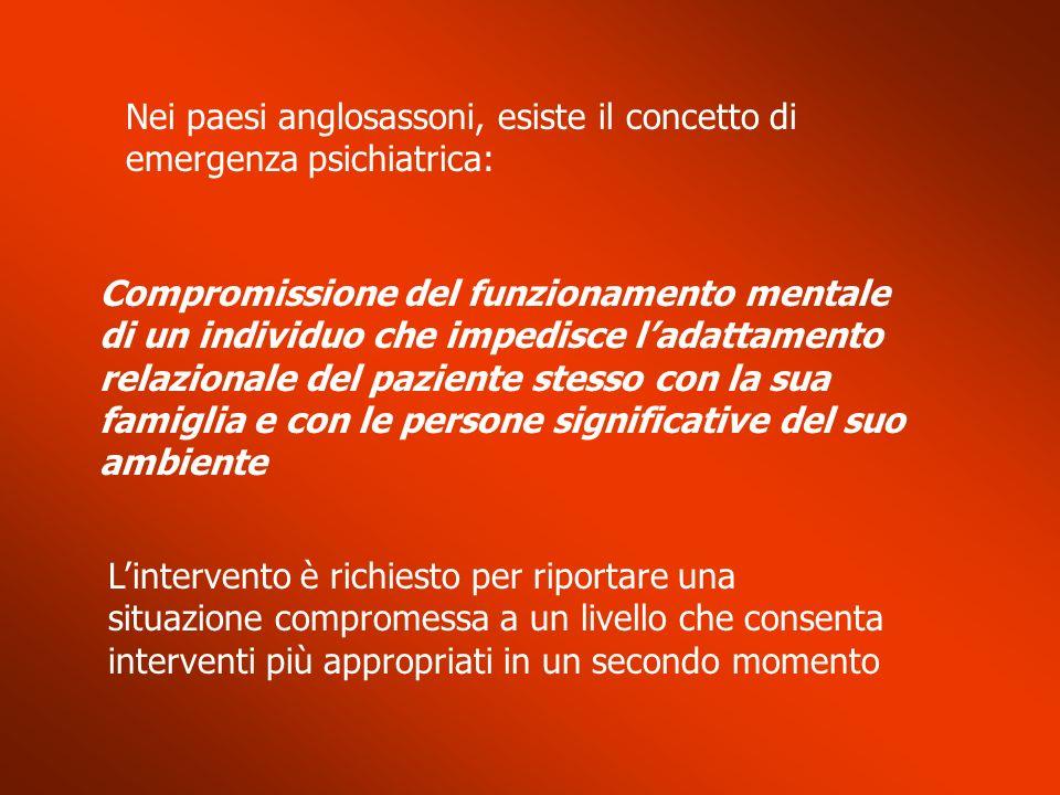 Crisi nei disturbi di personalità (3) Importante chiarirsi se la rete di sostegno familiare e sociale è in grado di contenere i sintomi e comportamenti patologici Il ricovero si rende necessario..