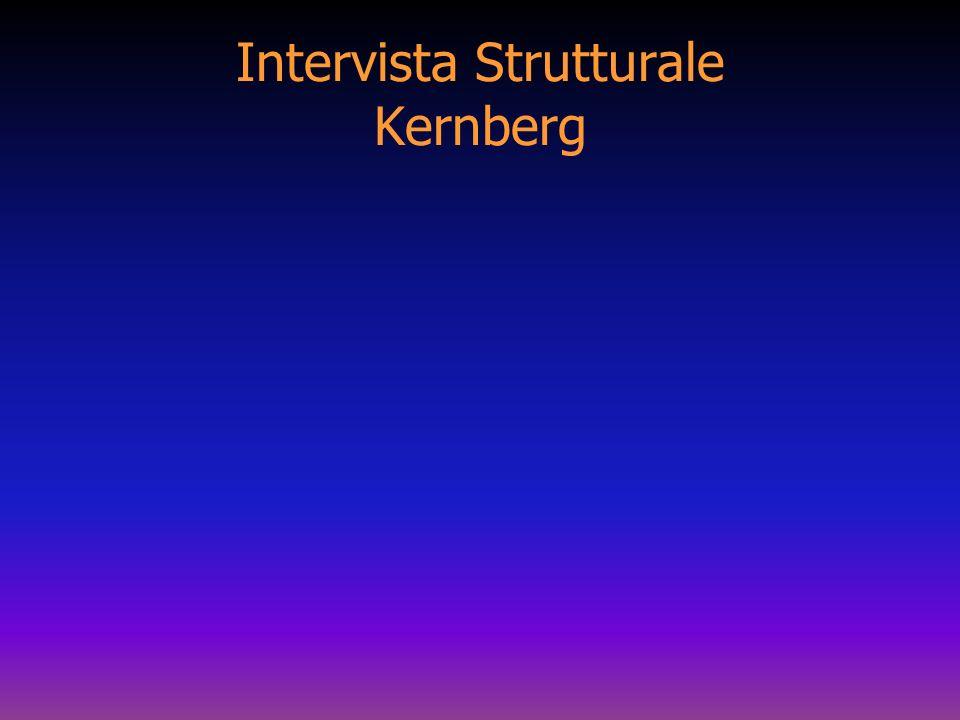 Intervista Strutturale Kernberg