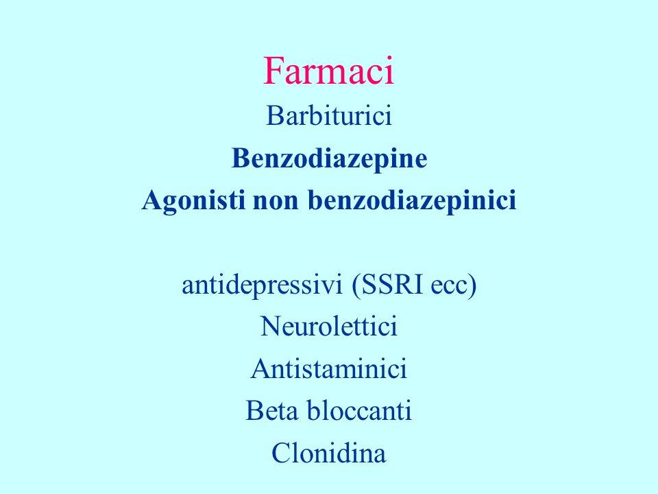 Benzodiazepine superano la BE attraversano la placenta sono escrete nel latte