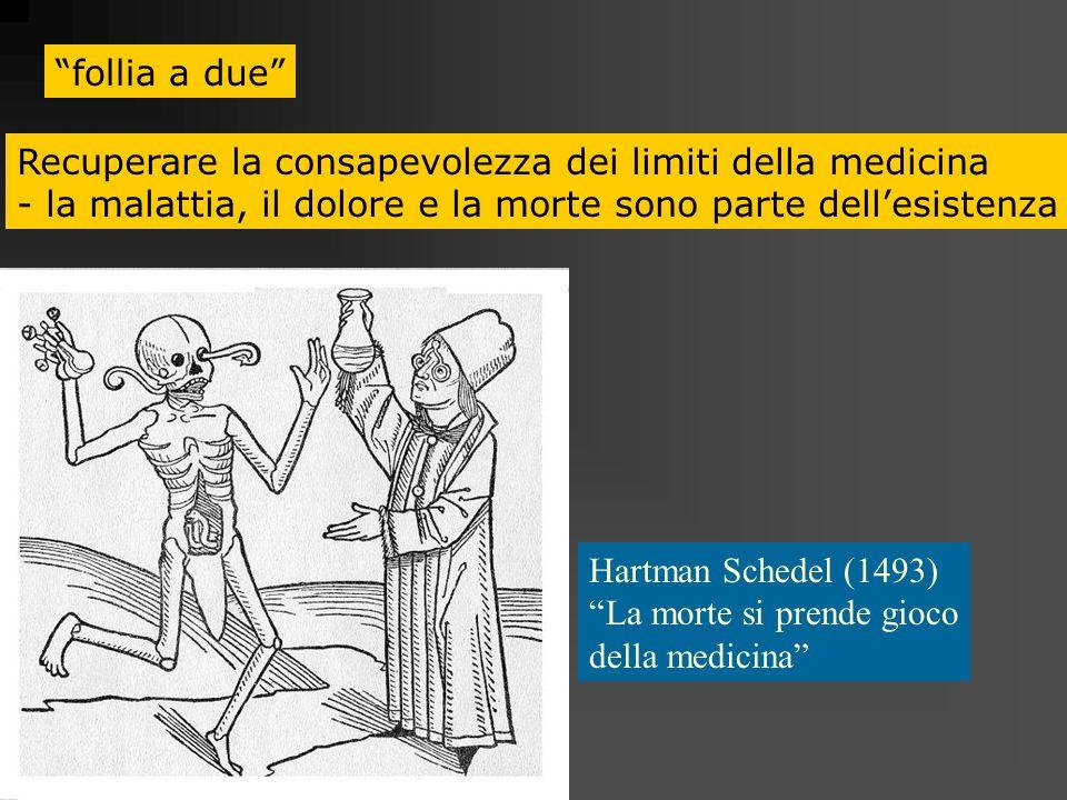follia a due Recuperare la consapevolezza dei limiti della medicina - la malattia, il dolore e la morte sono parte dellesistenza Hartman Schedel (1493