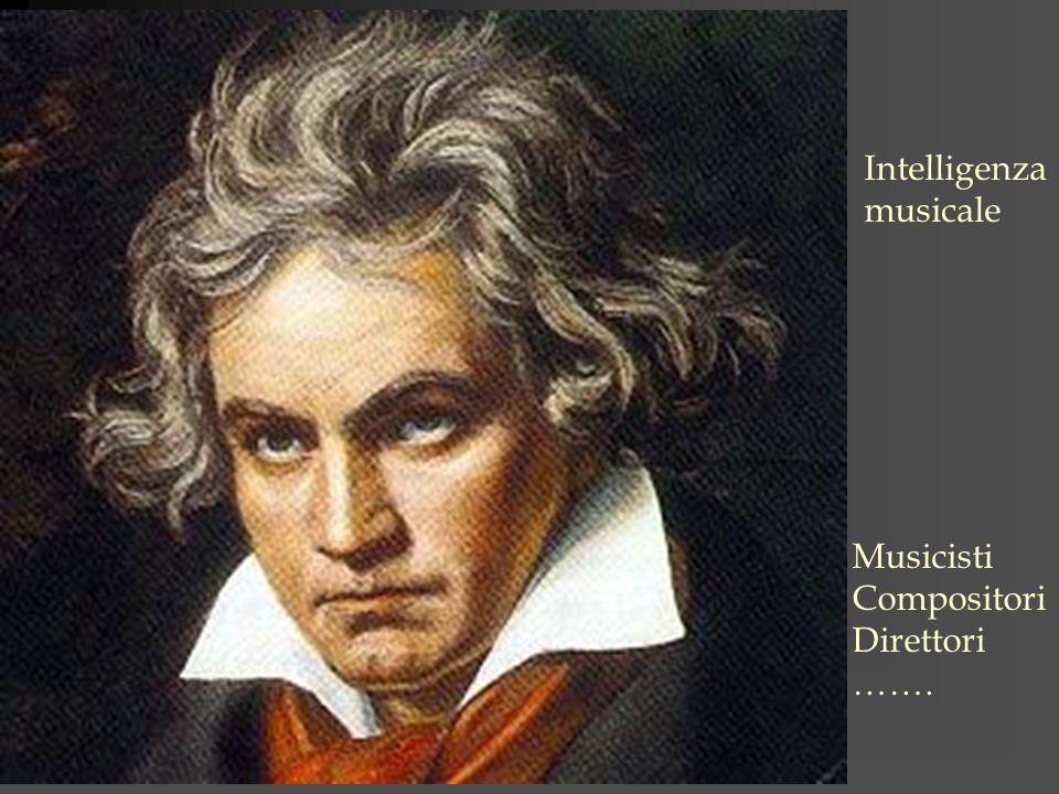 Intelligenza musicale Musicisti Compositori Direttori …….