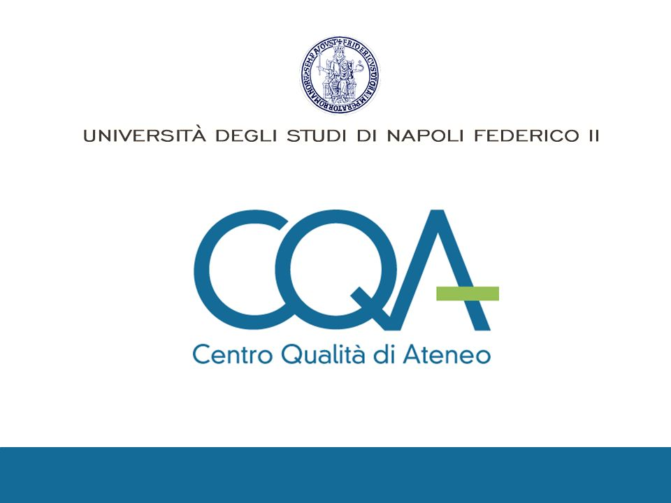 Università degli Studi di Napoli Federico II Corso base norma ISO 9001:2008 Nulla è più difficile da pianificare, più dubbio a succedere o più pericoloso da gestire che la creazione di un nuovo sistema.