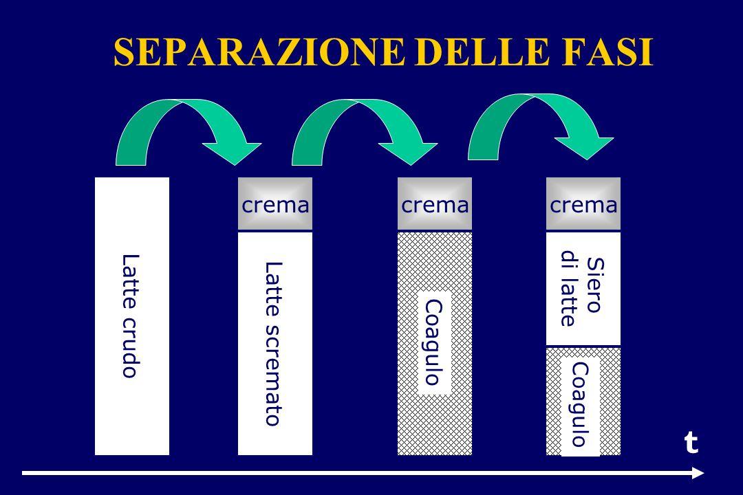 Preriscaldamento Omogeneizzazione Degasazione Pastorizzazione p.d.