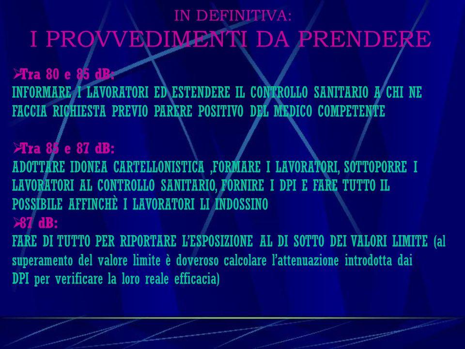 INFORMAZIONE E FORMAZIONE DEI LAVORATORI CAPO II (Art.