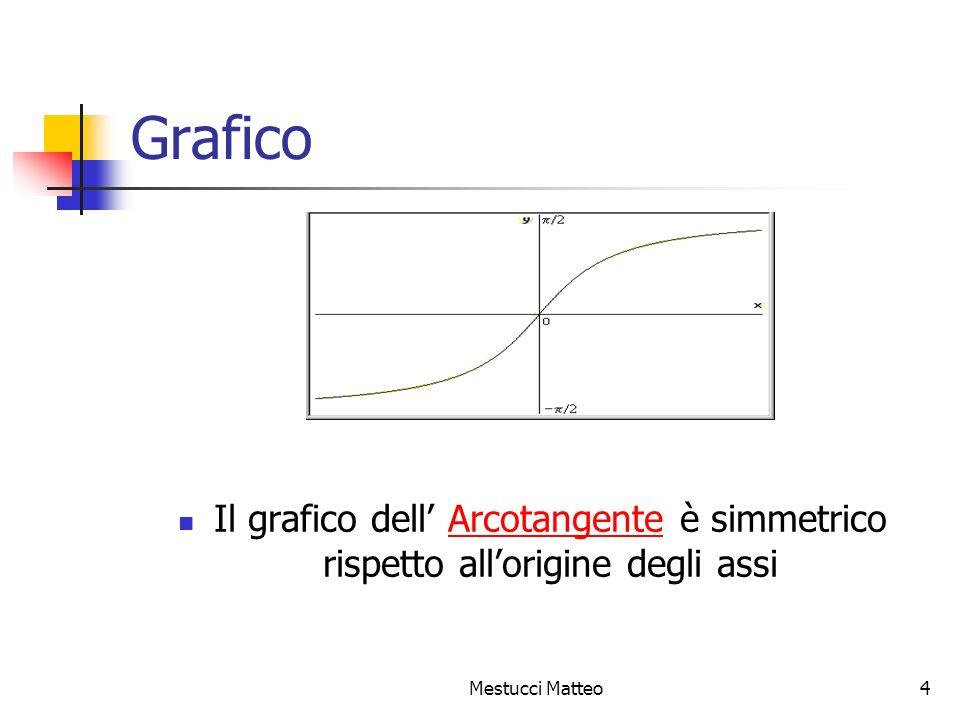 Mestucci Matteo5 Trigonometria La trigonometria è la parte della matematica che studia i triangoli a partire dai loro angoli.
