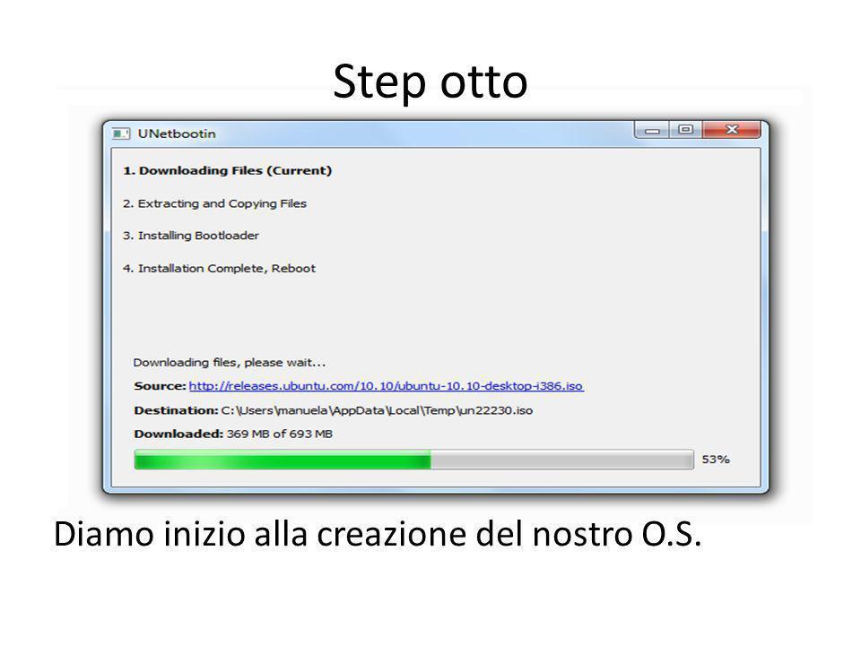 Step otto Diamo inizio alla creazione del nostro O.S.