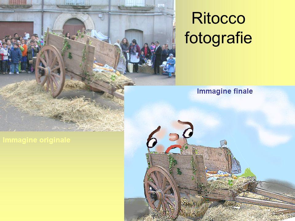 Ritocco fotografie Immagine originale Immagine finale