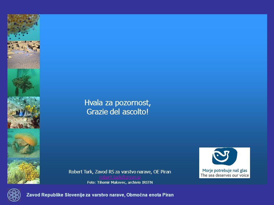 Zavod Republike Slovenije za varstvo narave, Območna enota Piran Robert Turk, Zavod RS za varstvo narave, OE Piran robert.turk@zrsvn.si Foto: Tihomir