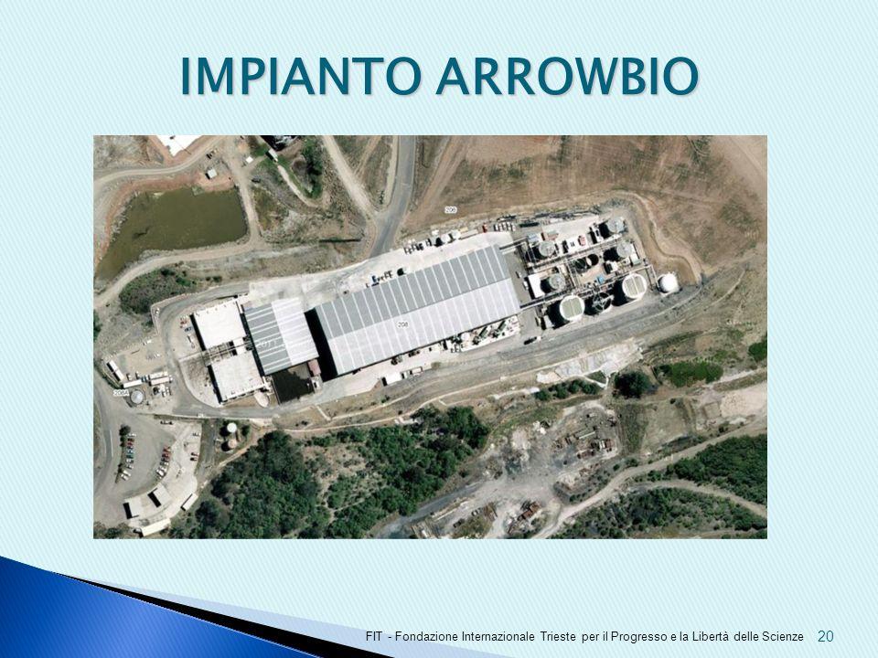 IMPIANTO ARROWBIO FIT - Fondazione Internazionale Trieste per il Progresso e la Libertà delle Scienze 20