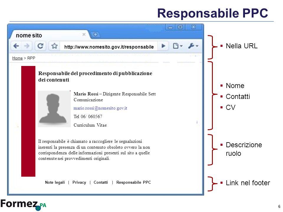 7 Normativa di riferimento LG Web PA Decreto legislativo 7 marzo 2005, n.