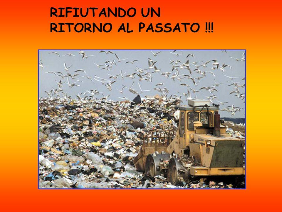 RIFIUTANDO UN RITORNO AL PASSATO !!!