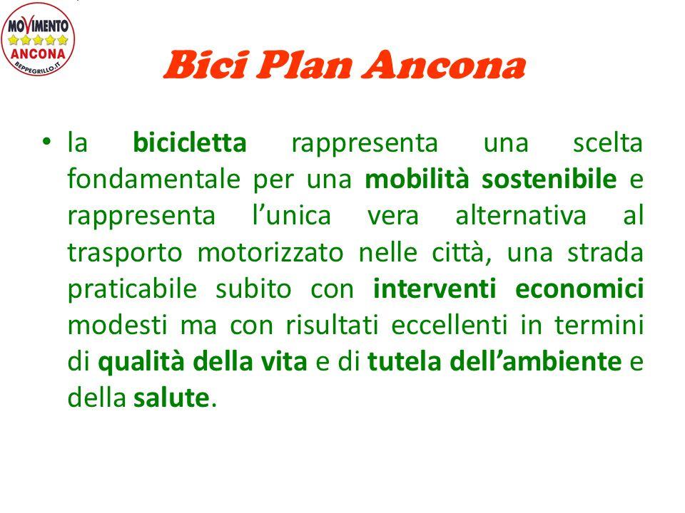 Bici Plan Ancona Mobilità ECO sostenibile Riferimenti: http://anconasocialclub.blogspot.it/ http://mobilitiamobici.blogspot.it/ http://www.uispancona.