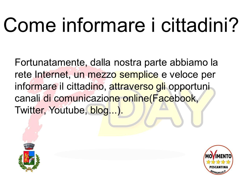 Curricula vitae Pubblicazione online dei curricola vitae dellamministrazione comunale.