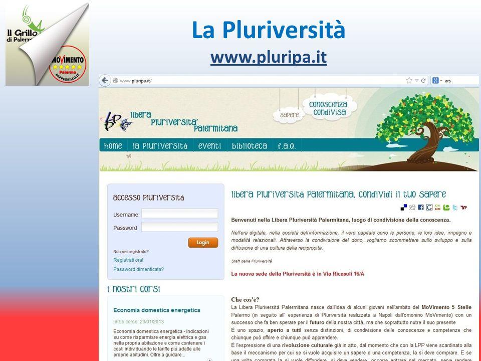 La Pluriversità www.pluripa.it