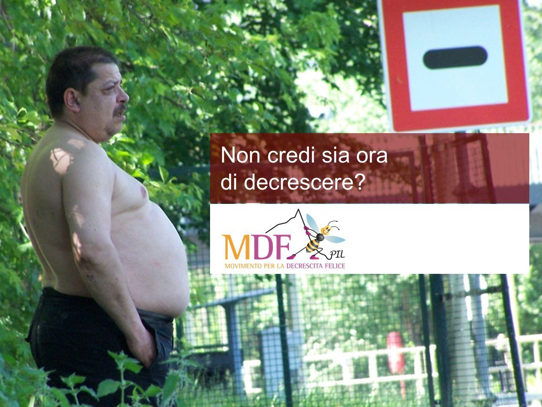 www.decrescitafelice.it Sprechi negli usi finali Cosa cè nel PIL.