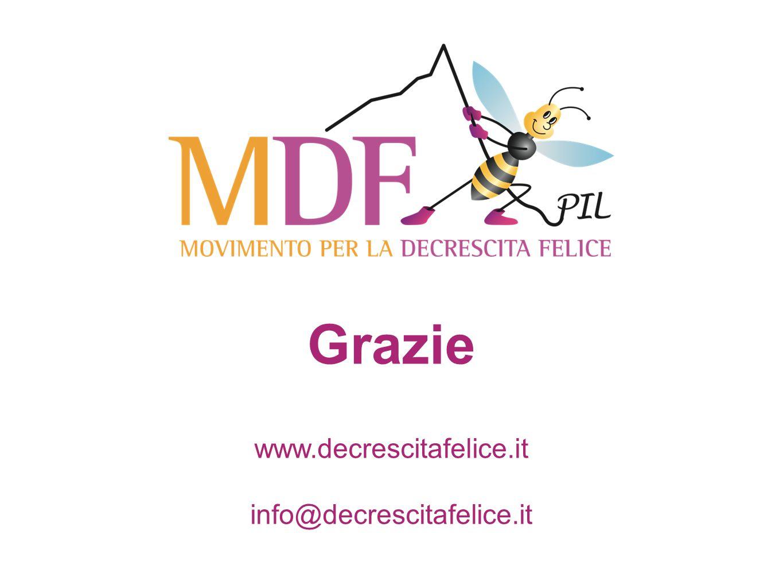 Grazie www.decrescitafelice.it info@decrescitafelice.it