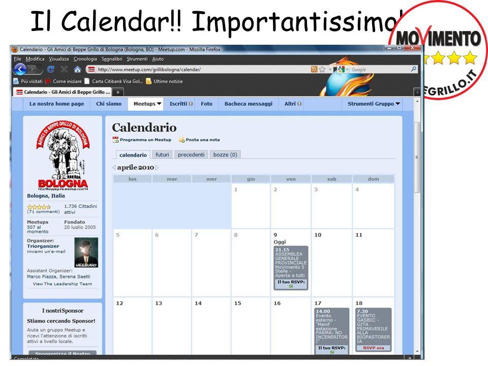 Il Calendar!! Importantissimo!