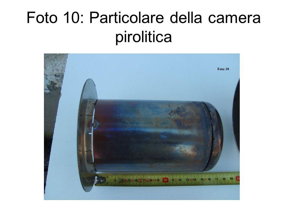 Foto 10: Particolare della camera pirolitica