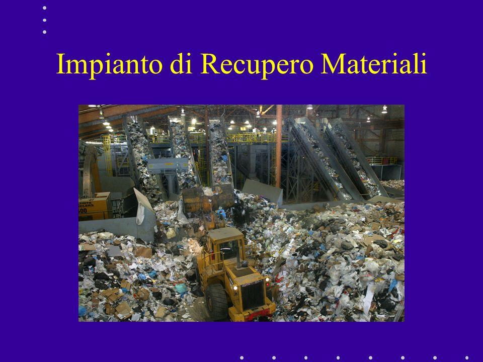 Impianto di Recupero Materiali
