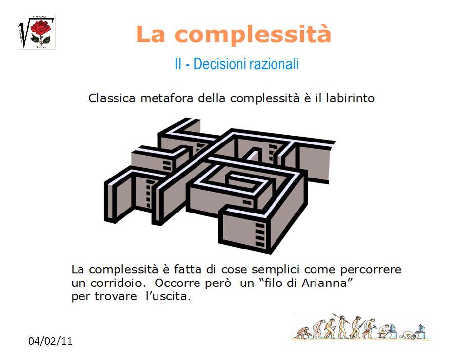 04/02/11 II - Decisioni razionali