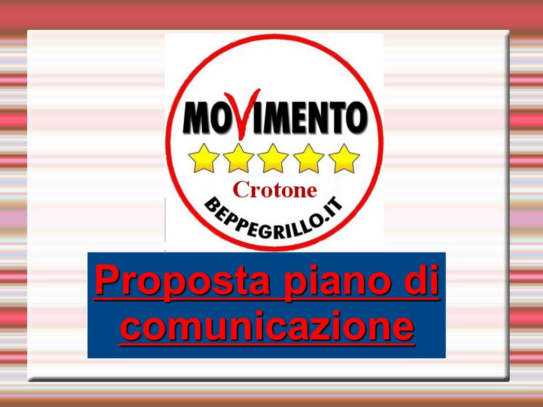 Proposta piano di comunicazione