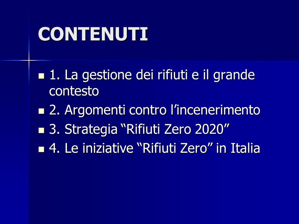 4. Le iniziative Rifiuti Zero in Italia