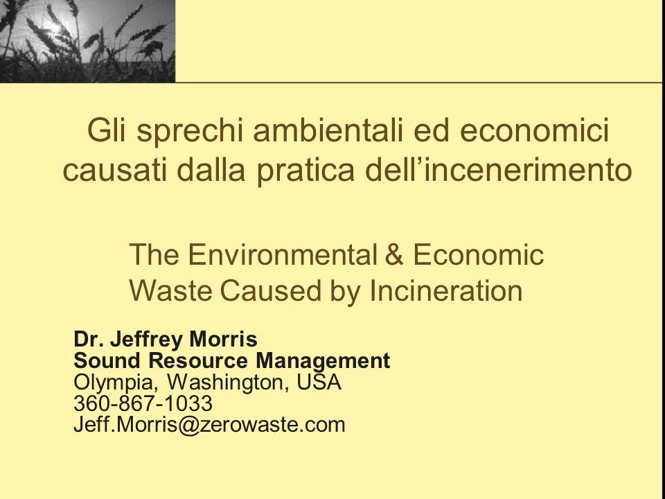 EcoToxics Emissions: Recycling vs.