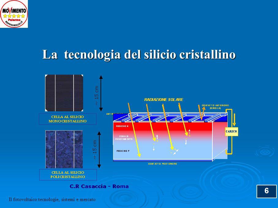 6 La tecnologia del silicio cristallino