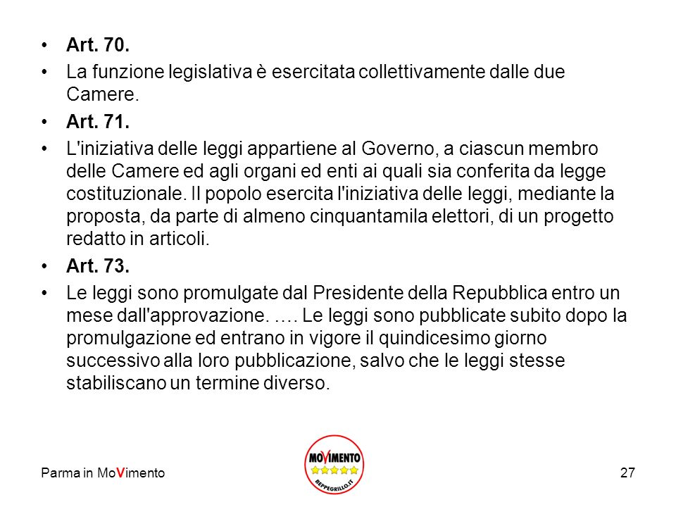 Parma in MoVimento28 Art.74.