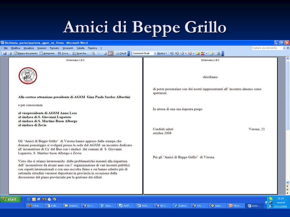 Amici di Beppe Grillo