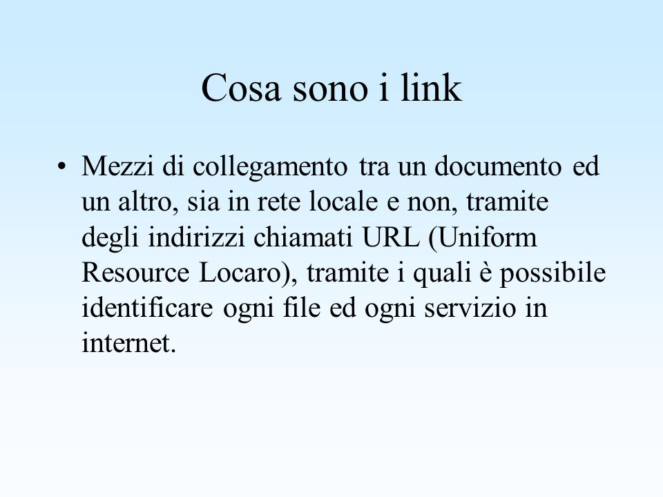 Da cosa è formato un documento html.