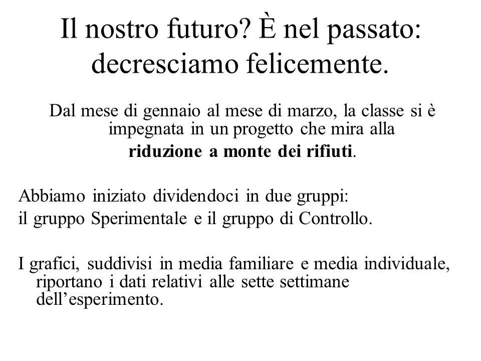 Il nostro futuro. È nel passato: decresciamo felicemente.