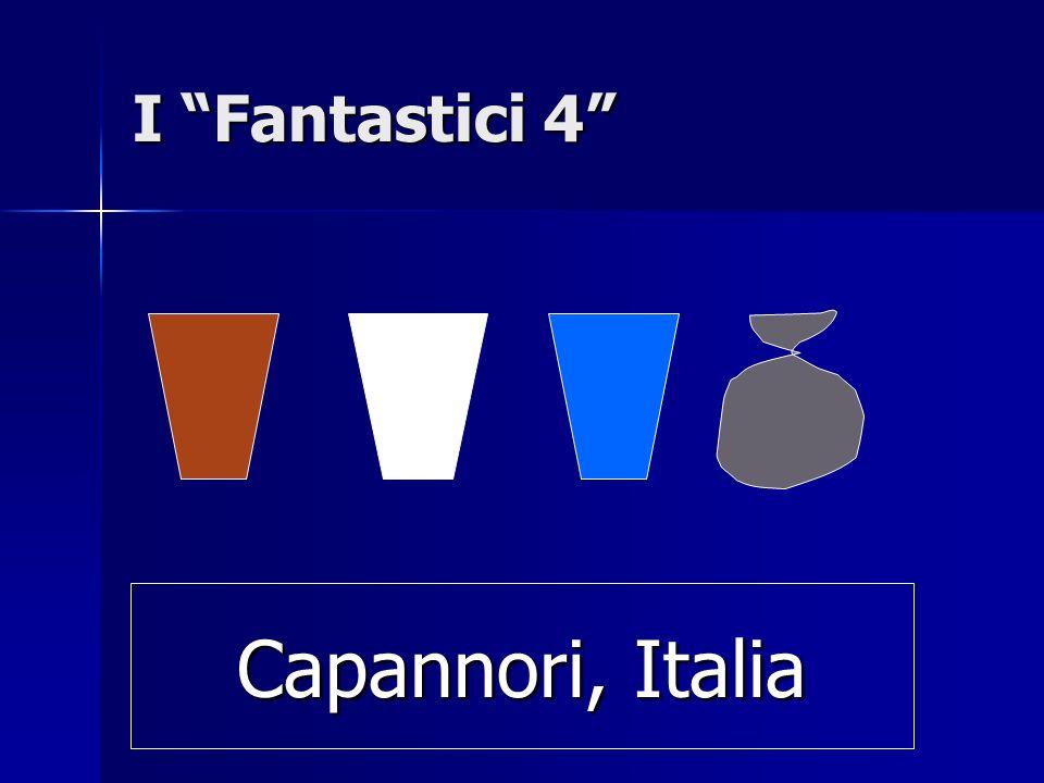 I Fantastici 4 Capannori, Italia