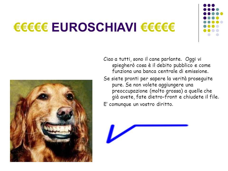 EUROSCHIAVI Ciao a tutti, sono il cane parlante.